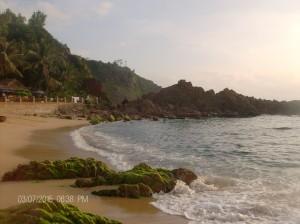 Gorgeous coastline in Tuy Hoa, Vietnam